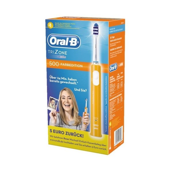 Braun Oral B TriZone 500 D16 ORANGE zubná kefka