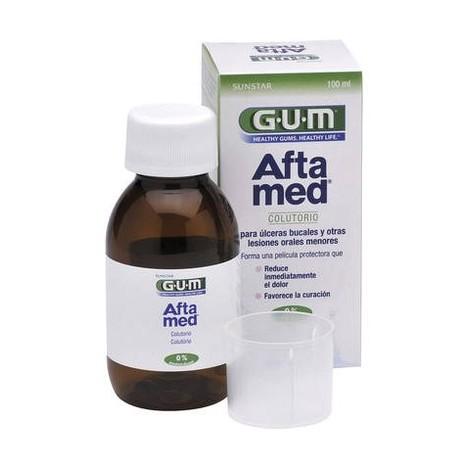 GUM Aftamed ústní voda 100 ml