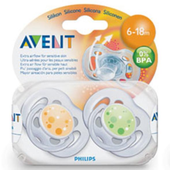 Philips Avent cumlík 6-18 Free Flow 2 ks