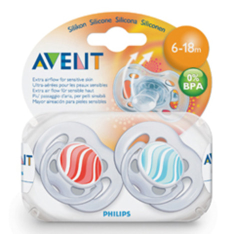 Philips Avent cumlík 6-18 Free Flow 2 ks