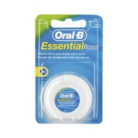 Oral-B EssentialFloss zubná nit 50 m - voskovaná