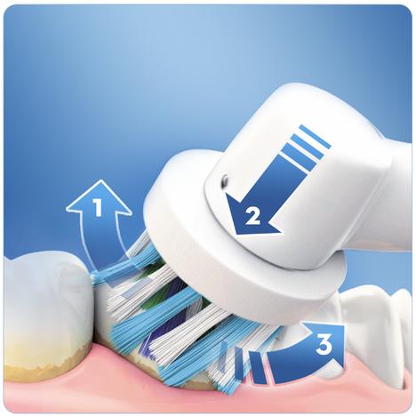 Oral-B PRO 600 CrossAction zubná kefka