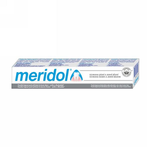 Meridol Gentle White zubná pasta 75 ml