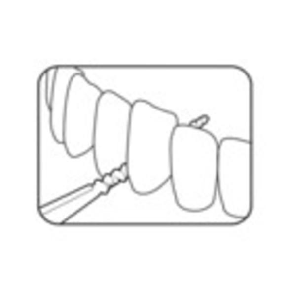 TePe EasyPick M/L mezizubné kefky 36 ks