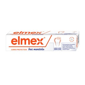 Elmex zubná pasta bez mentolu 75ml