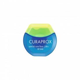 Curaprox DF 846 dentálna niť implant saver 30 ks