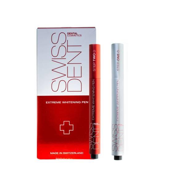 SWISSDENT Extreme bieliace pero, 2 x 3 ml