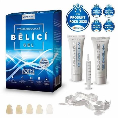 White Pearl set na bielenie zubov doma 130 ml