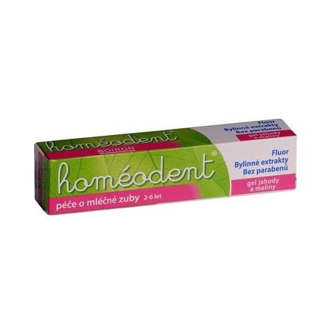 Homeodent jahoda dětská zubná pasta 50 ml