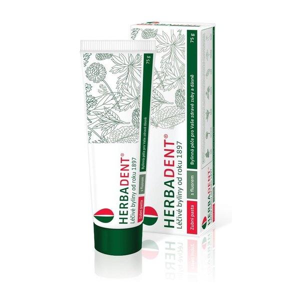 Herbadent bylinná zubná pasta 75 g