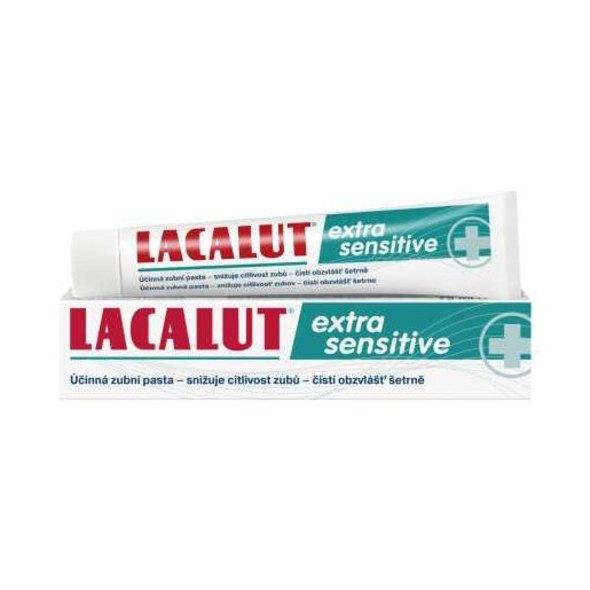 Lacalut Extra Sensitive zubná pasta 75ml