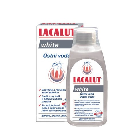 Lacalut White ústná voda 300ml