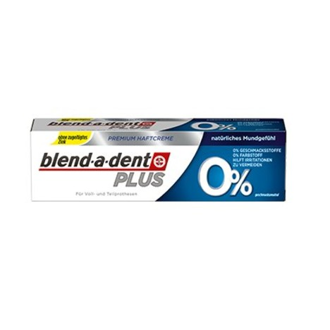 Blend-a-dent Plus 0% fixačný krém bez príchute