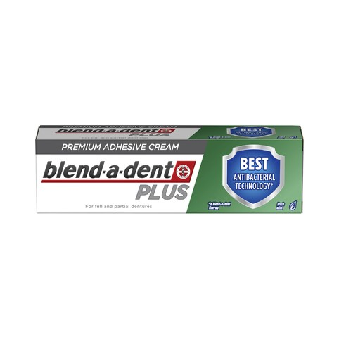 Blend-a-dent Plus Dual Protection fixačný krém 33 ml