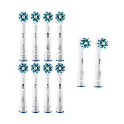 Braun Oral-B CrossAction EB 50-10 náhradné kefky 8+2ks