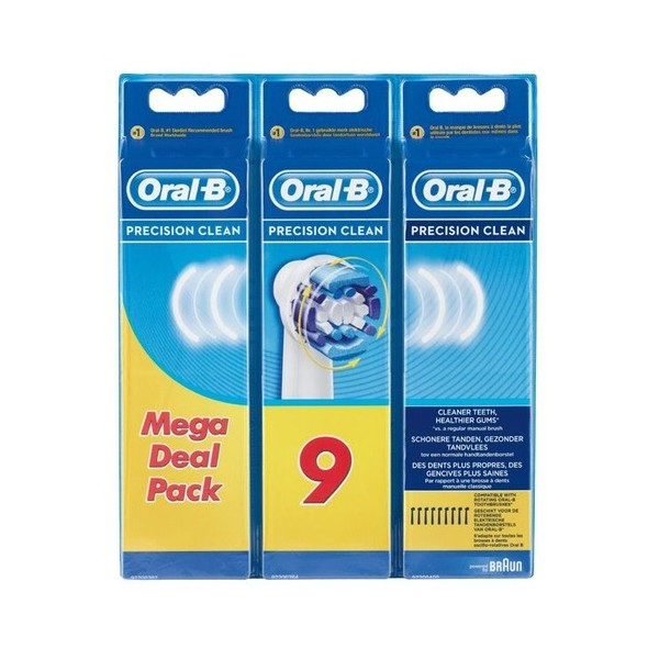 Braun Oral-B Precision Clean EB 20-9 náhradné hlavice 9 ks