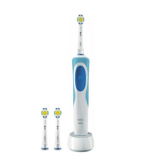 Braun Oral B Vitality 3D White D12.513 zubná kefka + náhradné hlavice 3D White 2ks