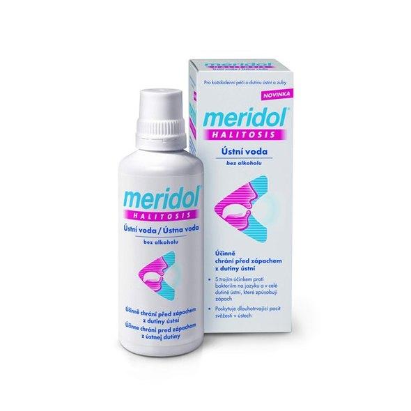 Meridol Halitosis ústna voda 400 ml