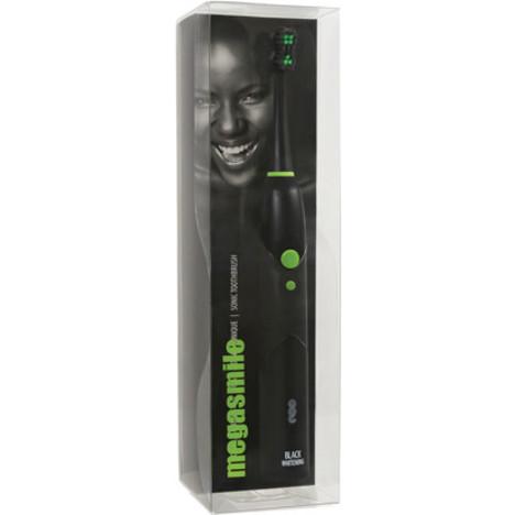 Megasmile Black Whitening sonická zubná kefka
