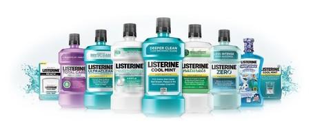 Prehľad ústnych vôd Listerine