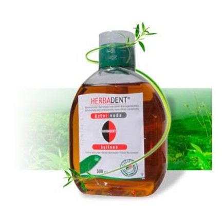 Herbadent bylinná ústna voda 300 ml