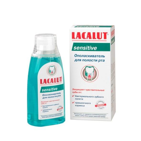 Lacalut Sensitive ústní voda 300 ml