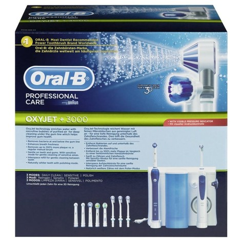 Braun Oral B Profesional Care Oxyjet+3000 ústne centrum