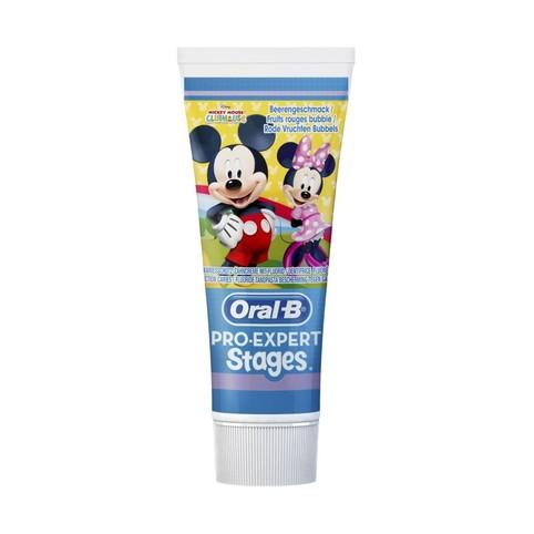 Oral-B Pro Expert Stages Mickey detská zubná pasta 75 ml