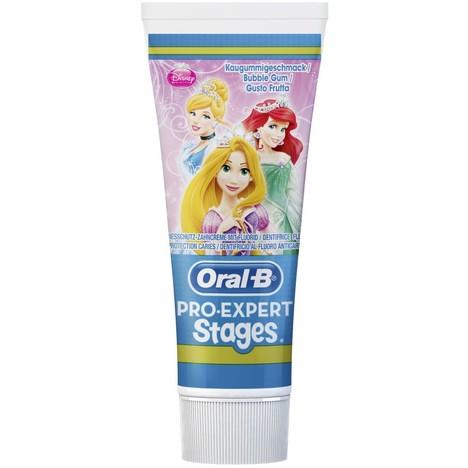 Oral-B Pro Expert Stages Autá/Princezny detská zubná pasta 75 ml