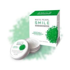 White Pearl Smile Mentol bieliaci zubný púder 30g