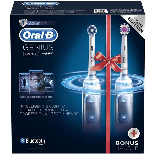Braun Oral-B Genius 8900 elektrická kefka 1+1 telo