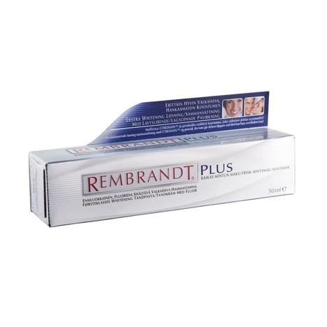 REMBRANDT Plus Fresh Mint bieliaca zubná pasta 50ml