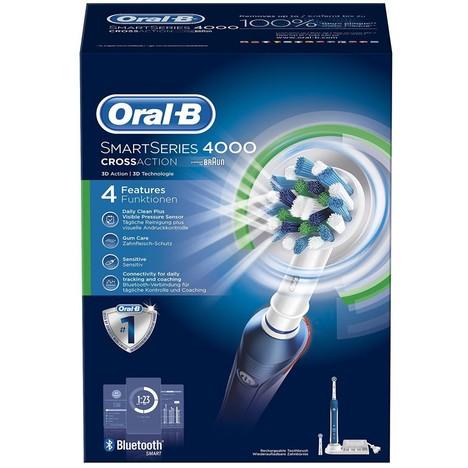 Braun Oral B SmartSeries 4000 CrossAction zubná kefka