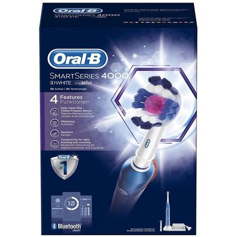 Braun Oral B SmartSeries 4000 3D White zubníá kefka