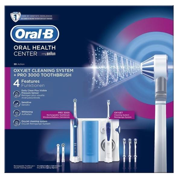 Oral-B Oxyjet + PRO 3000 ústne centrum - POŠKODENÝ OBAL