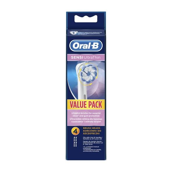 Oral-B Sensi UltraThin EB 60-4 náhradné kefky 4 ks