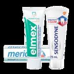 Zubné pasty