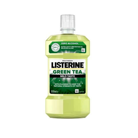 Listerine Green Tea ústna voda 500 ml