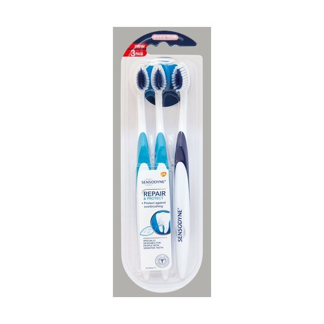 Sensodyne Repair&Protect Extra Soft zubná kefka, 3 ks