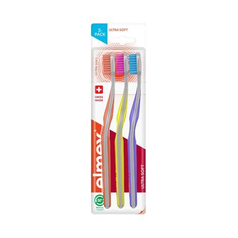 Elmex Ultra Soft zubná kefka, 3 ks