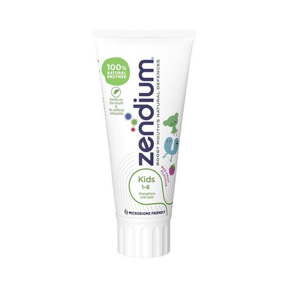 Zendium Kids 1-6 detská zubná pasta 50 ml