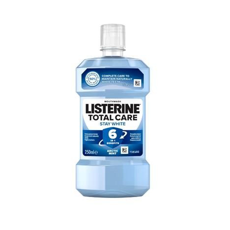 Listerine Total Care Stay White ústna voda 250 ml