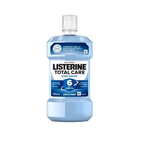 Listerine Total Care Stay White ústna voda 500 ml