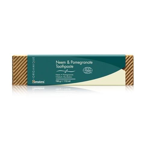 Himalaya Organique Neem&Pomegranate zubná pasta 150 g