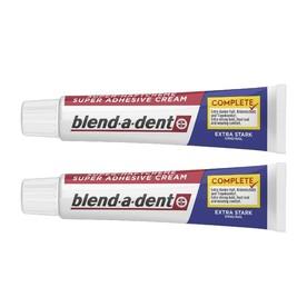 Blend-a-dent Complete Extra Stark fixačný krém 2×47 g