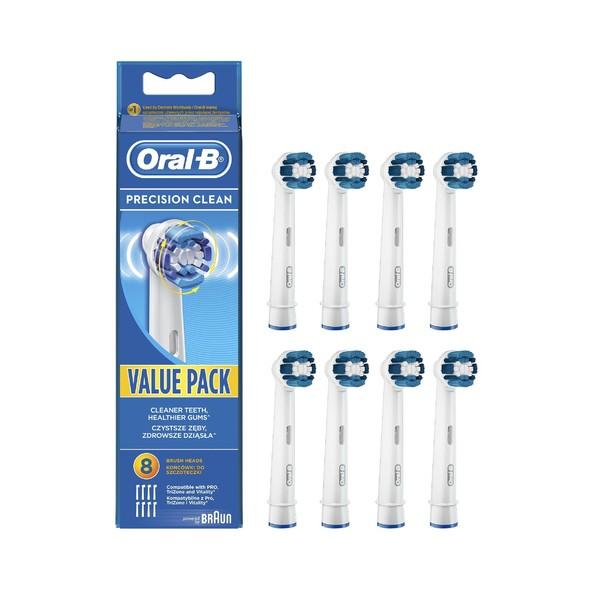 Oral-B Precision Clean EB 20-8 náhradné kefky 8 ks