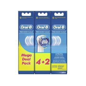 Oral-B Precision Clean EB20-6 náhradné hlavice, 6 ks