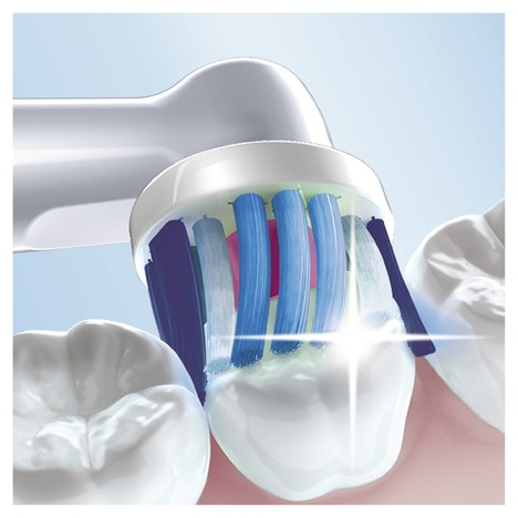 Oral-B Vitality 100 3D White Pink zubná kefka