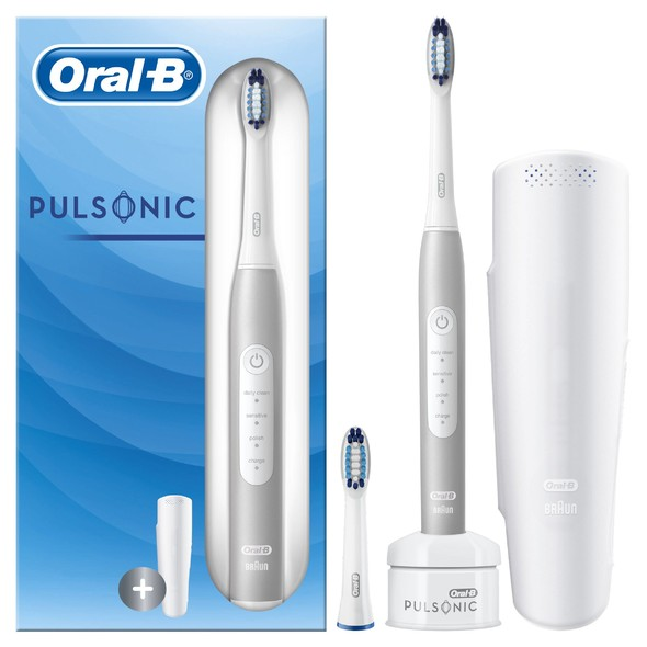 Oral-B Pulsonic Slim 4200 White sonická kefka