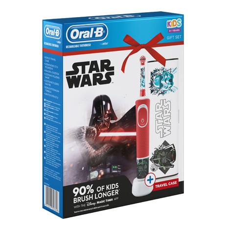 Oral-B Kids Star Wars zubná kefka + cestovné puzdro